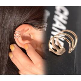 Aranyszínű fülgyűrű
