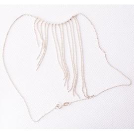 Ezüst függős nyaklánc