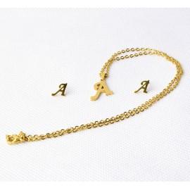 """""""A"""" betűs ékszer szett"""