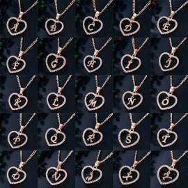 N betű medálos nyaklánc
