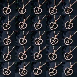 R betű medálos nyaklánc