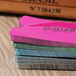 Rózsaszín RFID blokkoló tok