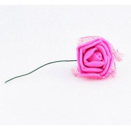 Pink rózsa szivacsból