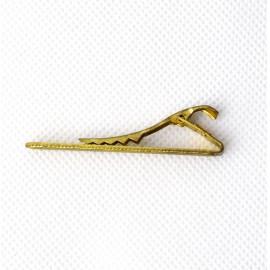 Antikolt aranyszínű nyakkendőtű