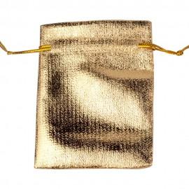 Aranyszínű ajándék zsák (nagy)