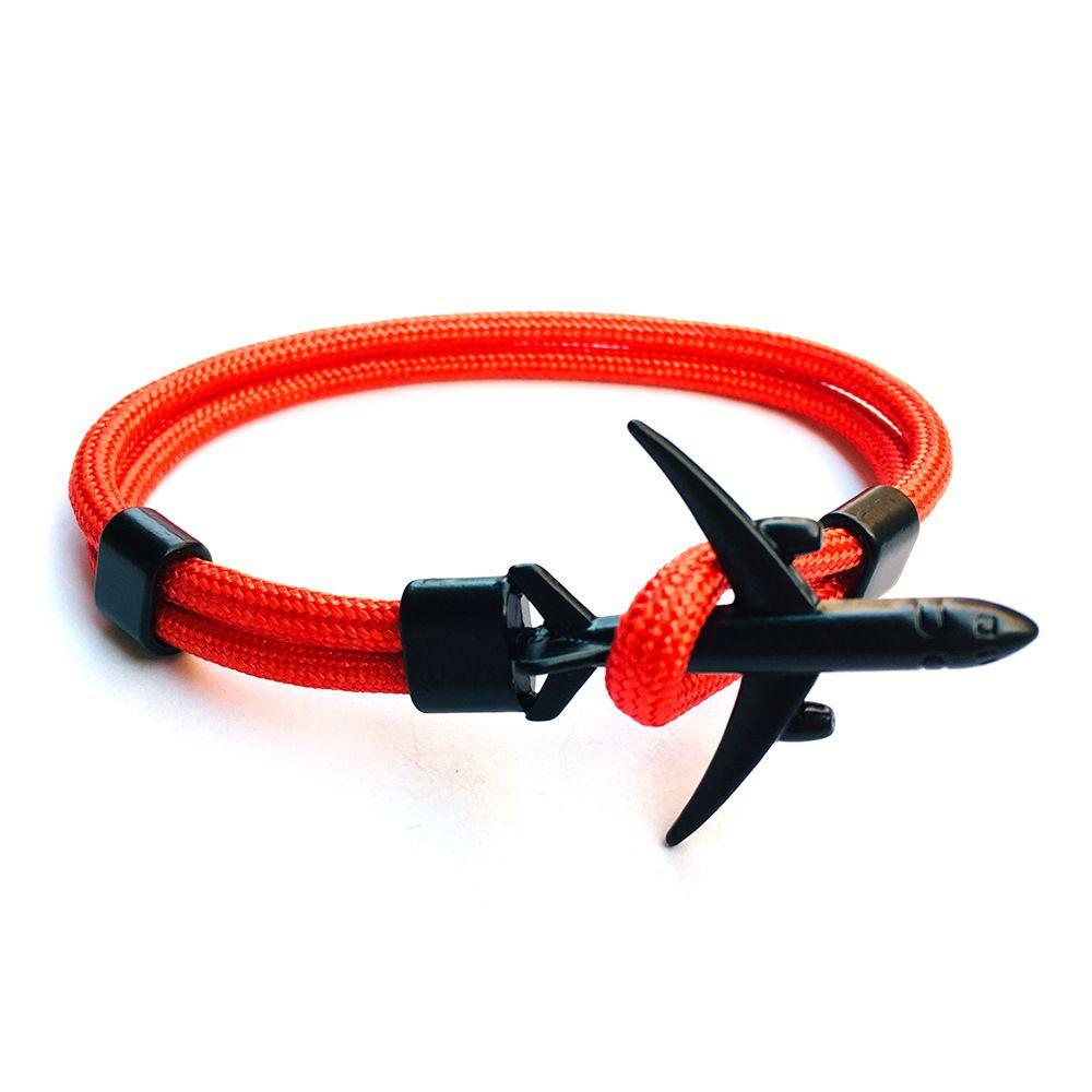 Piros repülős karkötő