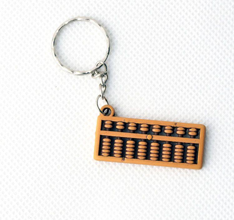Abakusz kulcstartó