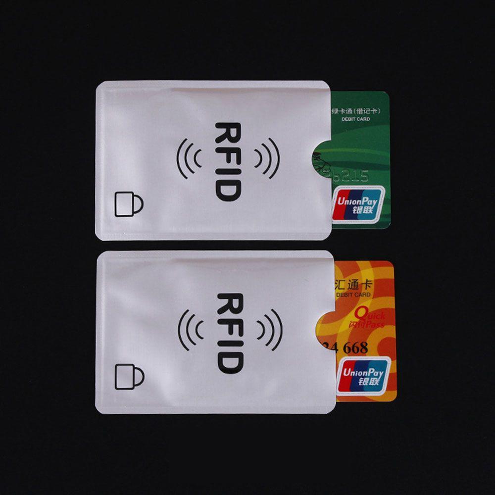 Ezüst RFID blokkoló tok