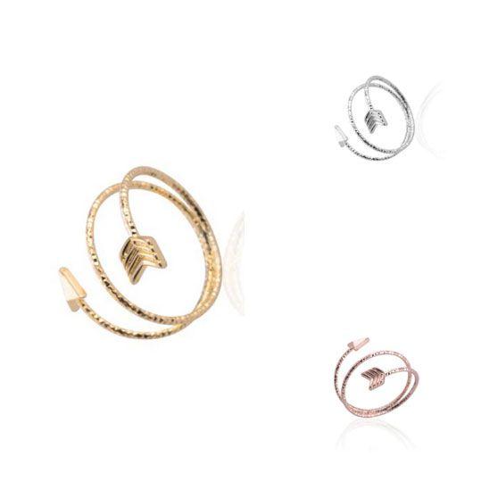 Nyílgyűrű, dupla hosszú szárral