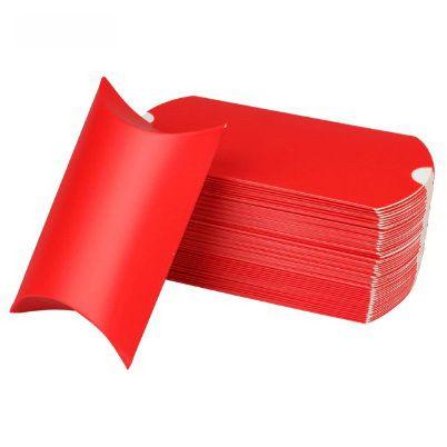 Piros hajtogatható díszdoboz
