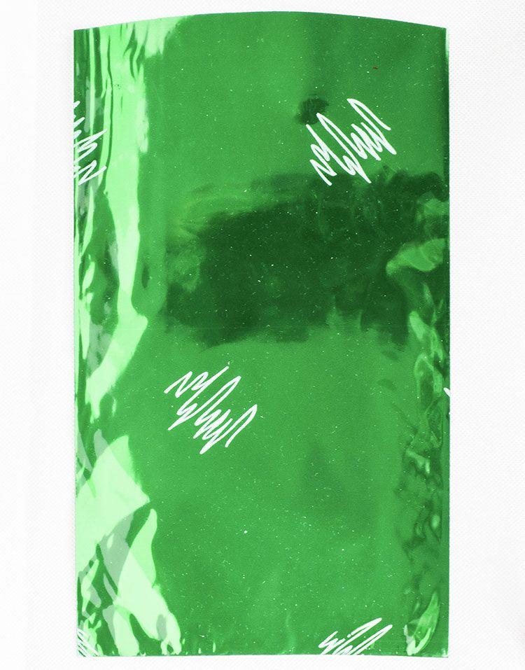 Zöld firka zacskó